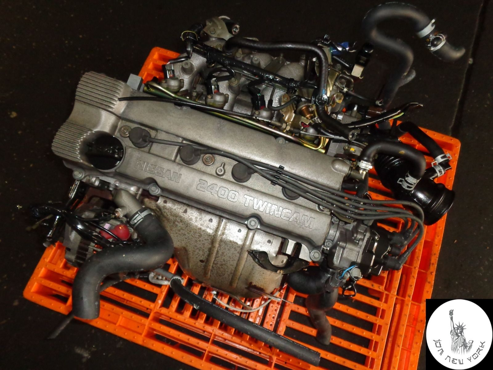 93-01 NISSAN ALTIMA XE SE GLE GXE 2.4L TWIN CAM FWD ENGINE ...